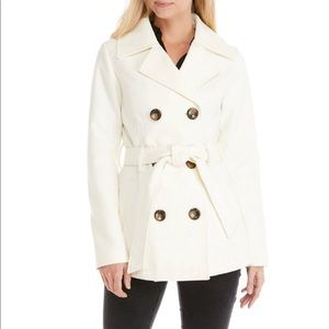 Me jane belted peacoat